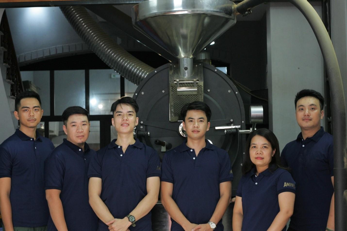 Đội ngũ hỗ trợ tư vấn cà phê giàu kinh nghiệm tại Amino Coffee