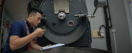 Kiểm soát quá trình rang cà phê