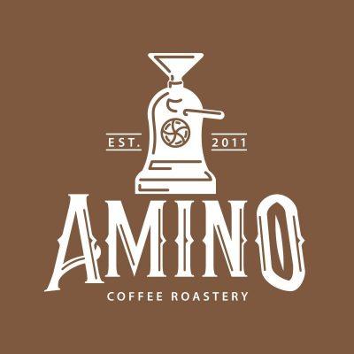 Logo Amino Coffee Cà Phê Rang Xay