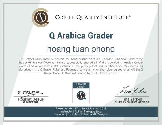 Q-Grader được tạo ra là vì hầu hết các quốc gia có cách đánh giá và phân loại cà phê của riêng họ
