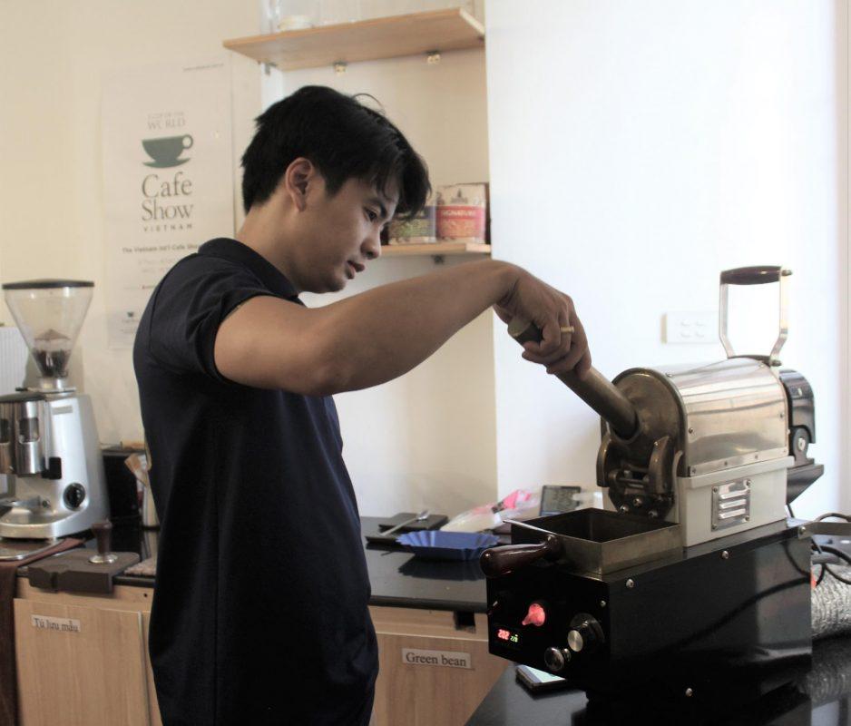 Quá Trình Cupping cà phê tại xưởng