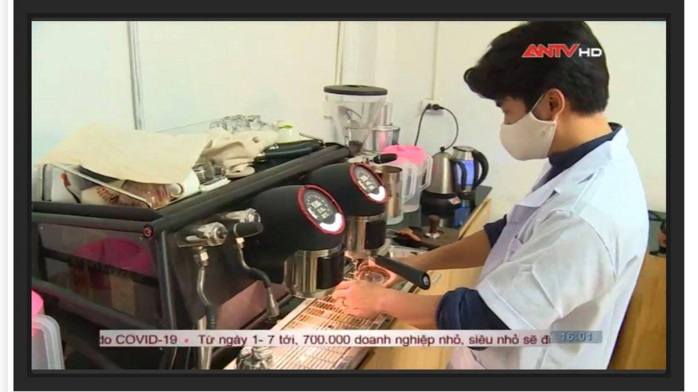 Amino Coffee lên sóng truyền hình ANTV mùa dịch Covid 19