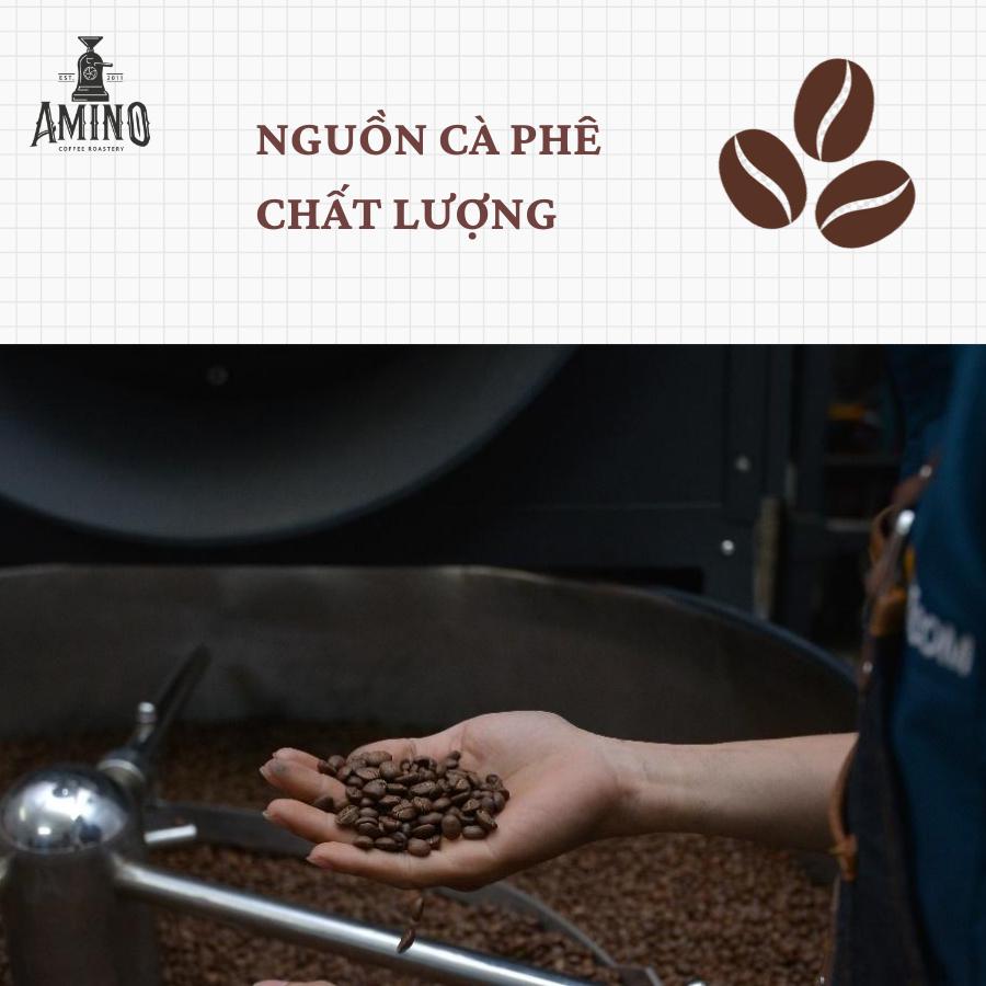 Cafe pha sẵn đóng chai tiện dụng Amino Coffee