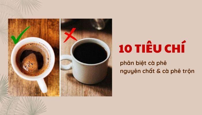 Cà phê nguyên chất là gì