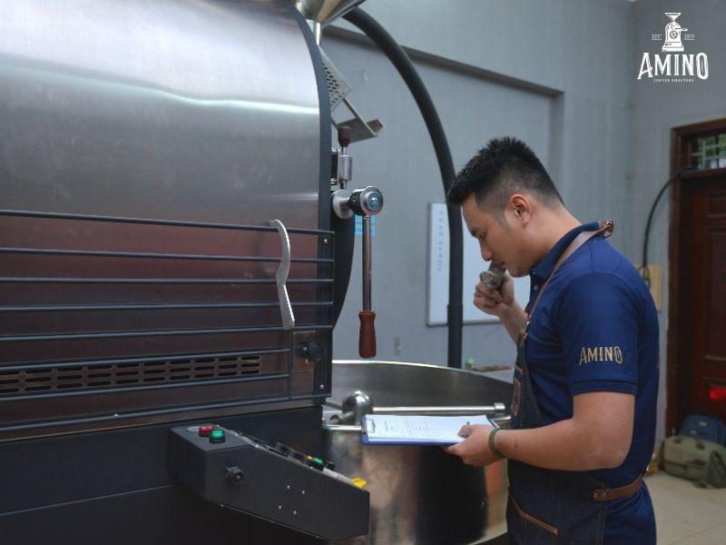 Amino là đơn vị cung cấp cà phê rang xay nguyên chất uy tín